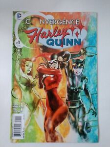 DC Comics Convergence Harley Quinn Issue #1 First Printing
