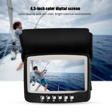 Unterwasserkamera mit Monitor 15m 1000TVL Fischfinder Angeln 4.3in LCD Kamera