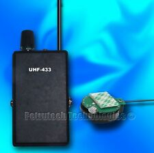 Set UHF FM bug spy wireless micro transmitter and receiver. The best set!