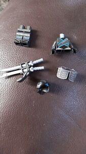 Lego minifigure spare parts ninjago Nya sons of garmadon and swords
