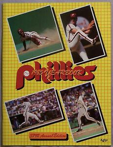 1985 PHILADELPHIA PHILLIES YEABOOK