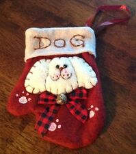 SALE!  Dog MINI Christmas Stocking,, Pet Gifts, Holiday Pet Gifts,Pet Supplies
