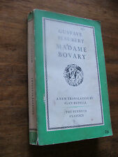 Madame Bovary by Gustave Flaubert PB Penguin 1952