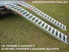 1.5 Tonne Capacity Mower Ramps Curved 3 metres x 390mm wide