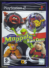 PS2 Muppets Party Cruise (2004), UK Pal, Brand New & Sony Factory Sealed