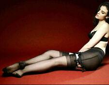 Calze Donna Nylon Velate Vintage Stile RHT 30 Denari Punte Tallone Rinforzato