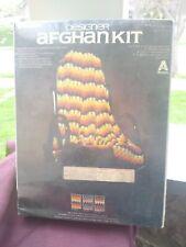 Vogart Crafts Designer Afghan Kit Vintage#5305 bears claw
