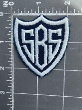 Vintage Sbs Patch Shield Crest Saint Bonaventure Catholic School Bernard St.