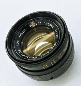 Nikon EL-NIKKOR F2.8 50mm Enlarger Lens