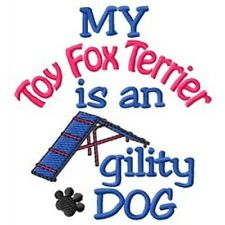 My Toy Fox Terrier is An Agility Dog Fleece Jacket - Dc2030L Size S - Xxl