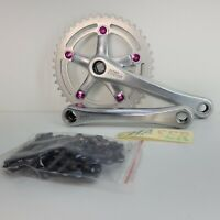 Old School BMX Crankset Kit SR Super Custom Bike 42T 170mm 118 BCD B13