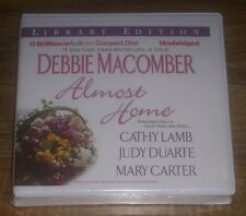 ALMOST HOME 2012 CD Debbie Macomber, Cathy Lamb, Mary Carter NEW Library Edition
