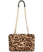 INC International Concepts Luci Double Envelope Crossbody Handbag Black Brown