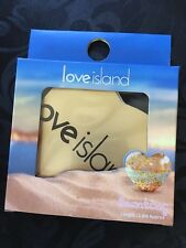 PRIMARK OFFICIAL LOVE ISLAND PARTY BUNTING WALL DECORATION GARLAND GOLD HEARTS