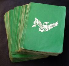 DARK SHADOWS 1968 Whitman Board Game Cards Only