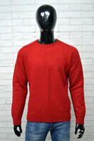 Maglione ROBE DI KAPPA Uomo Taglia XL Pullover Cardigan Sweater Man Rosso Lana
