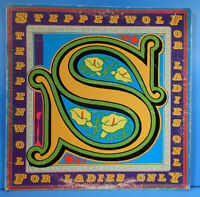 STEPPENWOLF FOR LADIES ONLY LP 1971 ORIGINAL POSTER GREAT CONDITION! VG++/VG!!D