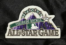 1998 ALL STAR GAME  MAJOR LEAGUE BASEBALL PATCH - COLORADO ROCKIES - COORS FIELD