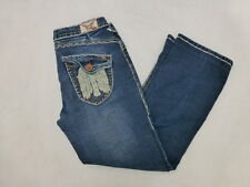 WOMENS LAGUNA BEACH JEAN CO. THICK STITCH BOOTCUT JEANS SIZE 31X26 #W330