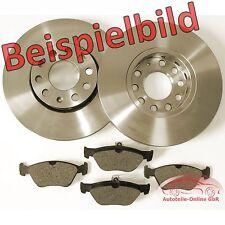 Bremsen Set ab Bj 2006 2 Bremsscheiben 4 Beläge vorne Opel Corsa D Paste**