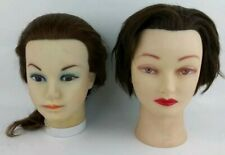 2 Cosmetology Mannequin Heads Hair & Makeup Marianna/CK For Beautiful Life