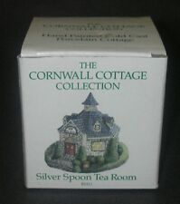 Cornwall Cottage Collection Silver Spoon Tea Room Bh11 Hand Painted Porcelain