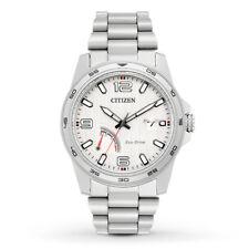 Citizen Eco-Drive Men's AW7031-54A PRT Silver-Tone Bracelet 42mm Sport Watch