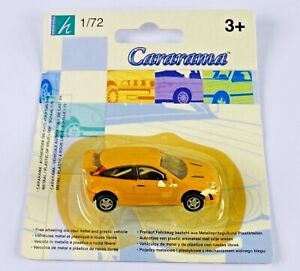 CARARAMA 1/72 - FORD FOCUS YELLOW CAR WITH ROLL CAGE - NEW CARDED