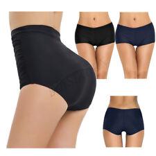 Women Solid Boy Leg Bikini Swim Bottom Boardshort Front lined Boy Short Swimwear