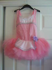 NEW Darling Pink Gingham Peasant costume / tutu  - Dance, Costume Child size 8
