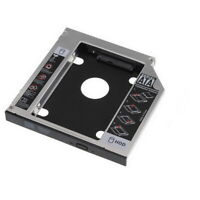 Optical Bay 2nd SATA HDD Hard Drive Caddy CD DVD-ROM For Laptop NoteBook 9.5mm
