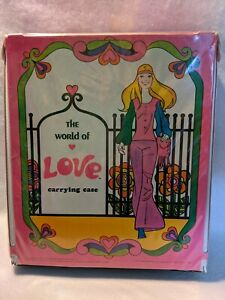 World of Love 1971 Hasbro Doll and Accessory Carrying Case