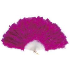 LILA FEDERFÄCHER # Karneval Fächer Rio Brasilien GoGo Kostüm Show violett 4718