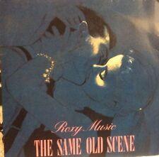 "Roxy Music The Same Old Scene 7"" Vinyl Record"