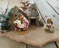 Wee Forest Folk BB-13 Grandmother Bear 2003 Special, includes handmade display