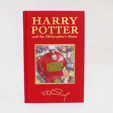 UNREAD 1st Edition Harry Potter Philosopher's Stone book DeLuxe cloth cover UK