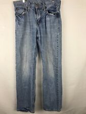 American Eagle Men's Jean Straight  Bootcut 30x33 light blue #125