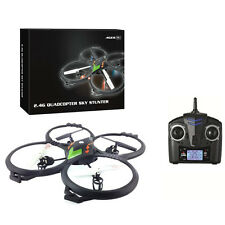 6-Axis Easy to Fly Quad Copter Drone Helicopter 4 Blades Stunt Action RC Remote
