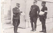 World War 1 General Joffre et De Castelnau Officers France Postcard 1914 - 1918