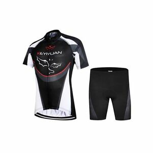 Children Ropa Ciclismo Sportwear Summer Cycling Jersey & Short Bike Bicycle Suit
