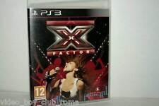 X FACTOR GIOCO USATO OTTIMO STATO SONY PS3 EDIZIONE ITALIANA PAL RS2 37322