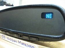 05 NISSAN MAXIMA AUTO DIMMING/COMP  REAR VIEW MIRROR