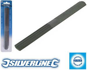 Silverline 4 Way Shoe Rasp 200mm Shaping Wood Plastic Hardened Tempered Steel