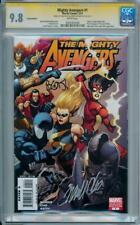 MIGHTY AVENGERS #1 1:100 VARIANT CGC 9.8 SIGNATURE SERIES SIGNED x2 BENDIS CHO