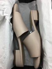Naturalizer Mason Slip On Slide Sandal Tan Women's Size 6M