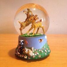 "Disney's Bambi ""Waltz Of The Flowers"" Musical Snow Globe (1547)"