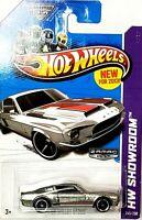 Hot Wheels HW Showroom '68 Shelby GT500 Silver 1:64
