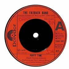 """The Fatback Band - Party Time - 7"""" Record Single"""