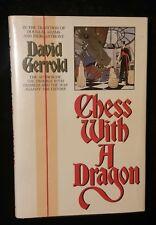 RARE 1987 1st Edition CHESS WITH A DRAGON David Gerrold Byron Press !!