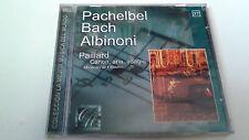 "PAILLARD ""PACHELBEL BACH ALBINONI CANON ARIA ADAGIO"" CD 10 TRACKS PRECINTADO"